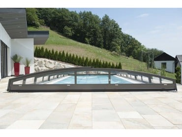 Exclusive Pool with roofing Emerald