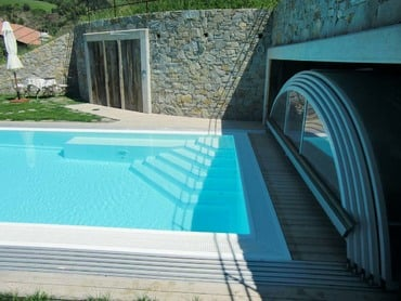 Exclusive Pool with roofing Ruby