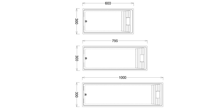 becken verl ngern oder verk rzen polyfaser schwimmbecken pools pooldach. Black Bedroom Furniture Sets. Home Design Ideas