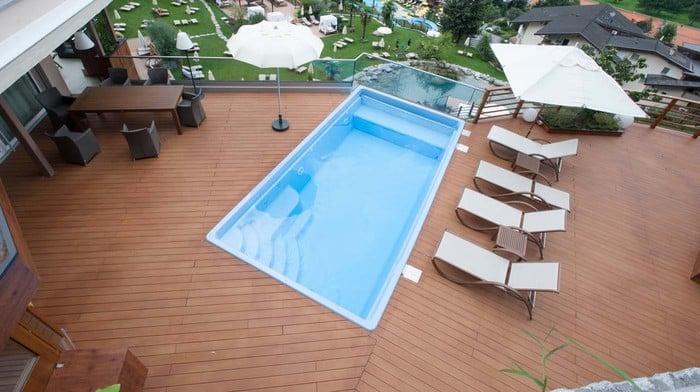 modell mallorca schwimmbecken von polyfaser pools pooldach. Black Bedroom Furniture Sets. Home Design Ideas