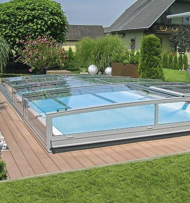schwimmbad berdachungen pooldach von polyfaser. Black Bedroom Furniture Sets. Home Design Ideas