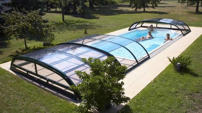 pooldach diamant schwimmbad berdachungen von polyfaser. Black Bedroom Furniture Sets. Home Design Ideas