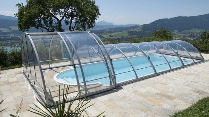 pooldach rubin i ii schwimmbad berdachungen von polyfaser. Black Bedroom Furniture Sets. Home Design Ideas