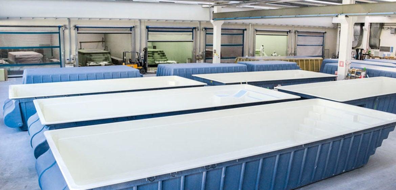 Qualit e know how polyfaser alto adige piscine in vetroresina coperture per piscine - Piscine prefabbricate vetroresina ...